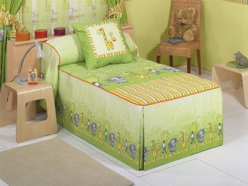 Colcha edredón Selva - cama 105 cm