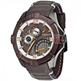 Stuhrling Original Men's 264XL.335NK59 Gen-X-Sport Quartz Brown and White Dial Watch