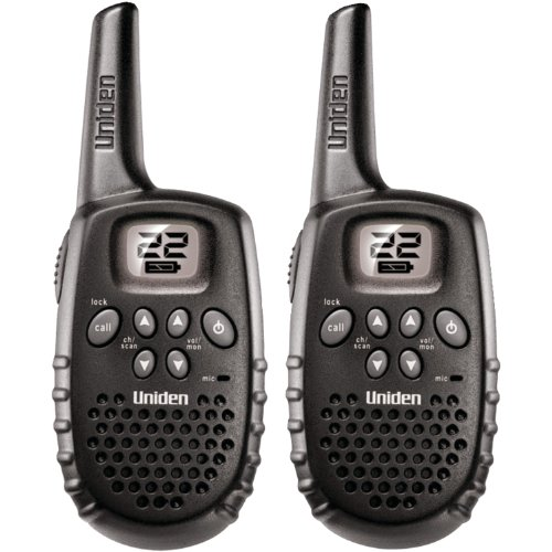 Best Price Uniden 16-Mile 22 Channel Battery FRS/GMRS Two-Way Radio Pair - Black (GMR1635-2)