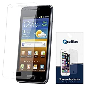 Qualitas Ultra Clear Pack of 10 Anti-Glare Anti-Scratch Anti-Fingerprint Screen Protector for Micromax Canvas 2.2 A114