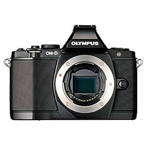"""Olympus E-M5 Appareil photo numérique hybride 16,1 Mpix Écran LCD 3"""" Objectif PRO M.ZUIKO ED 12-40mm Boîtier nu Noir"""