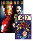 Iron Man (with Marvel Iron Man Comic Book, Exclusive to Amazon.co.uk) [DVD]
