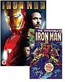 Iron Man (with Marvel Iron Man Comic Book, Exclusive to Amazon.co.uk) [DVD]