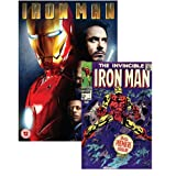 Iron Man (with Marvel Iron Man Comic Book, Exclusive to Amazon.co.uk) [DVD]by Robert Downey Jr