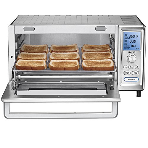 Cuisinart TOB-260 Chef's Convection Toaster Oven (Cuisinart Broiler Toaster Oven compare prices)
