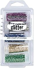 Image result for stampendous glitter glass