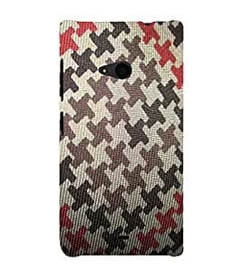 EPICCASE army pattern Mobile Back Case Cover For Nokia Lumia 535 (Designer Case)