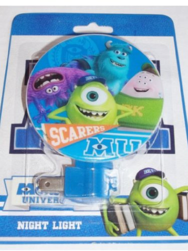 Disney Pixar Monsters University Night Light Boys Room