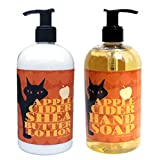 Apple Cider Shea Butter Hand & Body Lotion And Apple Cider Hand Soap Duo Set 16 Oz Each By Greenwich Bay Trading...