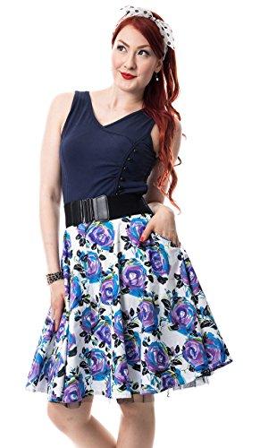 Rockabella -  Vestito  - Donna blu L