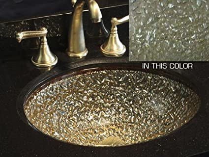 JSG Oceana 007-307-200 Pebble Undermount/Drop-In Combination Sink, Sea Green