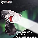 Generic Waterproof Front Bike CREE U2 Led Light Rechargeable Bike Lights Bicycle Led Light Bicicleta Bicycle Front Light Flashlight Lamp