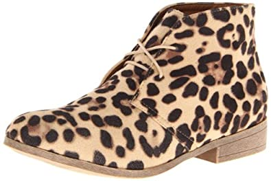 Madden Girl Women's Dontee Ankle Boot,Leopard,6.5 M US