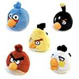 ANGRY BIRDS Boys Girl Slippers Soft Plush Stuffed Cuddly Toys Mens Womens Ladies Childrens Kids Red