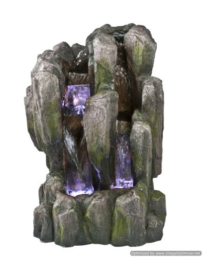 Natural Stone Finish Tabletop Water Fountain