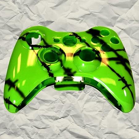Green Shadow Wire Controller Shell | Xbox Controller Mod