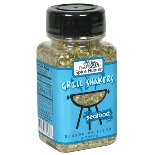 Spice Hunter Grill Shakers Seafood, 3.9-Ounces (Pack of 6)