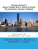 Davenport's New York Will And Estate Planning Legal Forms (Davenport's Will and Estate Planning Legal Forms)