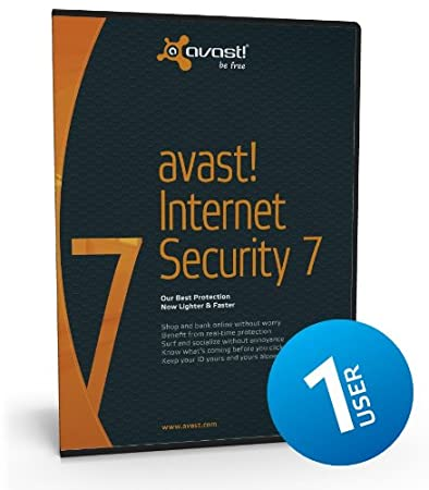 Avast Internet Security 7 (1 User/PC) - 1 Year Subscription