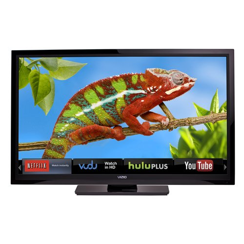 51x%2B4IaX5dL 42inch VIZIO E422AR 42 Inch 60Hz Class LCD HDTV with VIZIO Internet Apps (Black)