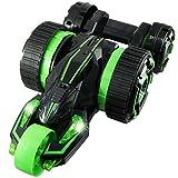 ラジコン 5輪型 アクロバット走行 360°スピン 変形 『5ROUND STUNT』(OA-686G) グリーン OnSUPPLY OA-686G