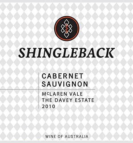 2010 Shingleback Cabernet Sauvignon, Mclaren Vale, Australia 750 Ml