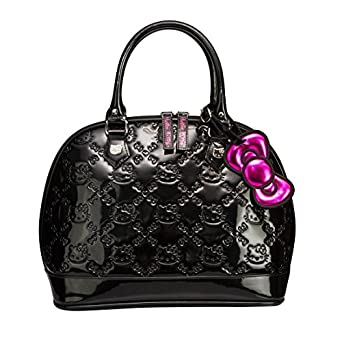 Hello Kitty Small Black Patent Embossed Bag [Apparel]