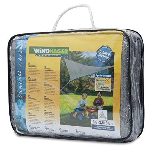 Windhager 10932 - Vela de sombra para patio