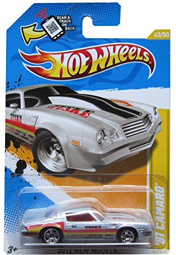 2012 Hot Wheels New Models '81 Camaro Silver #43/247