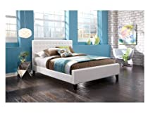 Big Sale Leggett and Platt Fashion Bed Group Aria Bed, Full, White