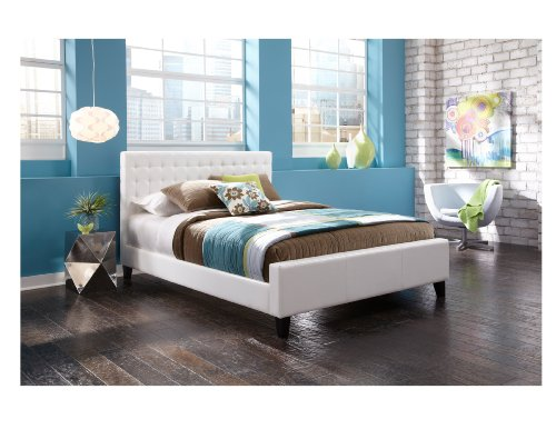 Leggett And Platt Fashion Bed Group Aria Bed, Queen, White front-223144