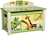 Ollington Street Toy Box - Jungle Print