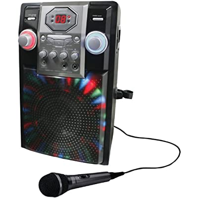 GPX J182B Portable Karaoke Player by GPX Inc