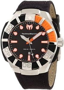 TechnoMarine Men's 512001 Black Reef Stainless Steel Watch