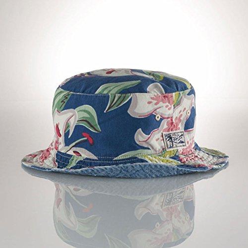 ポロラルフローレン POLO RALPH LAUREN 正規品 メンズ 帽子 ハット REVERSIBLE FLORAL BUCKET HAT S/M 並行輸入品 (コード:4093330506-1)