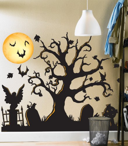 Halloween Wall Decoration Ideas : Halloween home decorating ideas