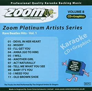 Karaoke Cdg Beatles Rare Hits Vol 1