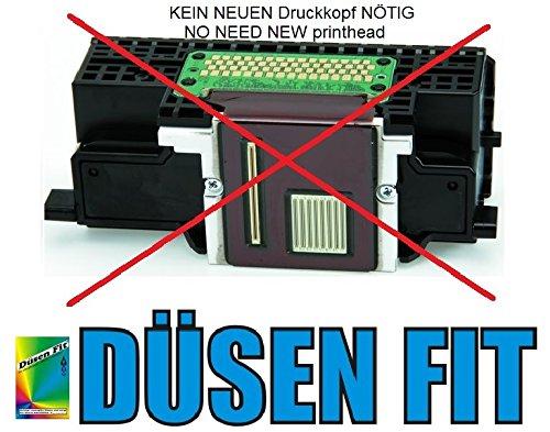 Düsen Fit 1000ml Original Düsen Fit Profi Düsenreiniger Patronen Druckkopf Reiniger für ALLE Druckkopf HP Canon Epson Brother Lexmark