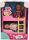 Evi Love 2 in 1 Bunk bed with 2 dolls…
