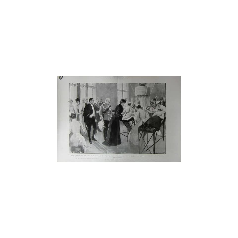 Queen Alexandra Patients Finsen London Hospital 1903