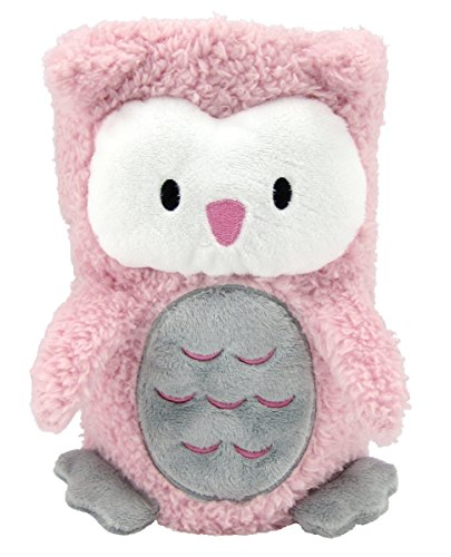 FouFou Baby My Pet Blankie Olivia The Owl, Pink - 1