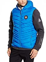 Geographical Norway Chaleco Vintage (Azul / Rojo)