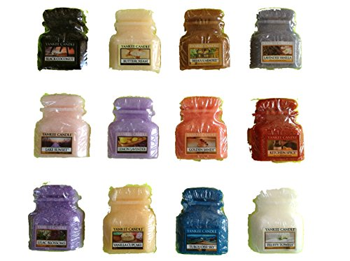 Yankee Candle Jar Wax Melts Variety Pack-12 Count