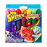 Mr. Sketch Washable Scented Watercolor Markers, Chisel Tip, Assorted Colors, 14-Count