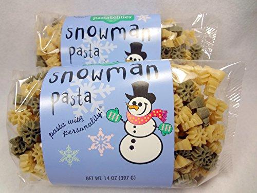 Snowman Pasta