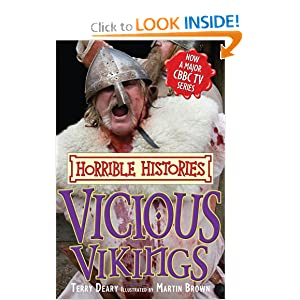 Vicious Vikings (Horrible Histories TV Tie in)