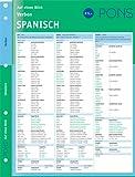 PONS Verben auf einen Blick Spanisch: kompakte Übersicht, Verbformen und Konjugationen nachschlagen