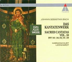 Cantates sacrées,  Vol.10