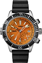 Timex Intelligent Quartz T2N812 Mens Indiglo Depth Gauge Thermometer Watch