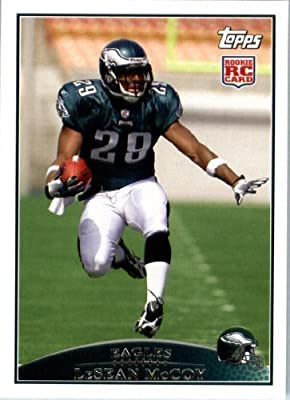 2009 Topps NFL Football ROOKIE Card #400 LeSean McCoy Philadelphia Eagles (RC) NFL Trading Card